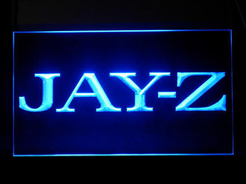 Jay-Z LED Sign - Blue - TheLedHeroes