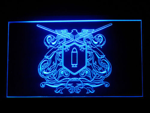 Katekyo Hitman Vongola Family LED Sign - Blue - TheLedHeroes