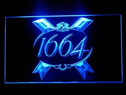 1664 LED Sign - Blue - TheLedHeroes
