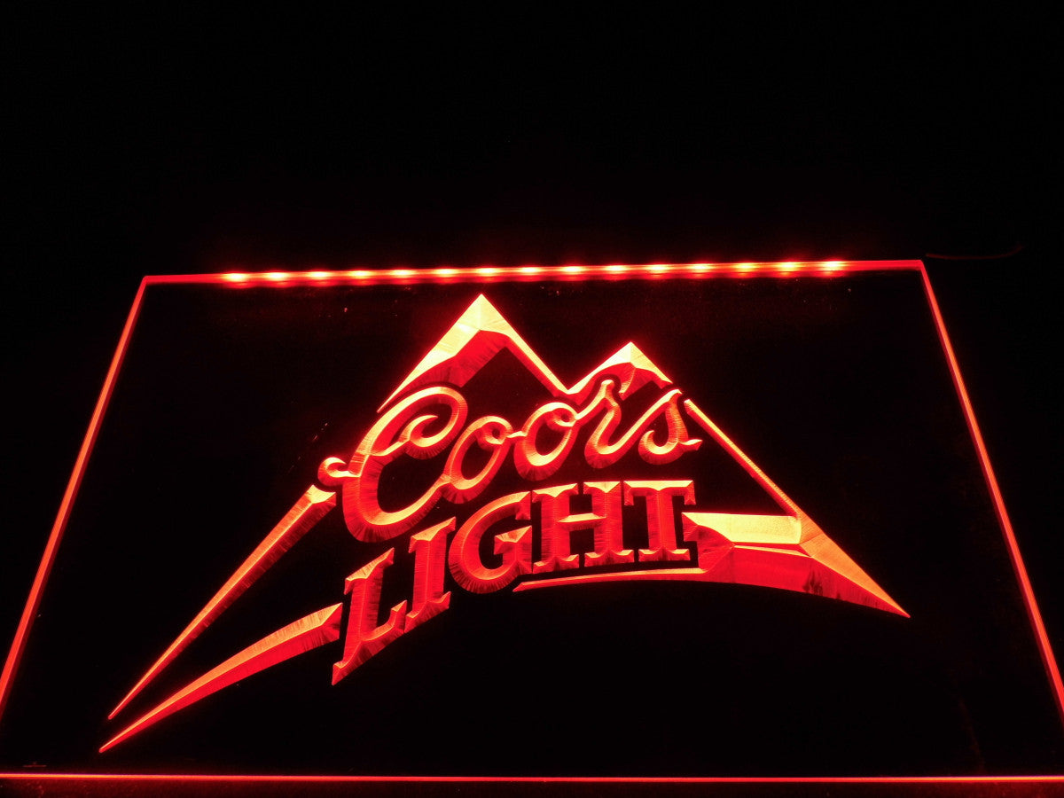 Coors Light Beer Bar Pub Logo LED Sign – TheLedHeroes