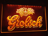 Grolsch Beer Bar Pub Club NEW LED Sign - Orange - TheLedHeroes