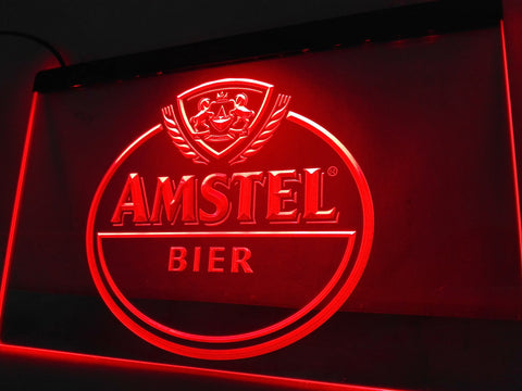 Amstel Beer Bar LED Sign - Red - TheLedHeroes