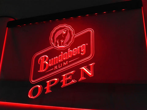 Bundaberg OPEN LED Sign - Red - TheLedHeroes