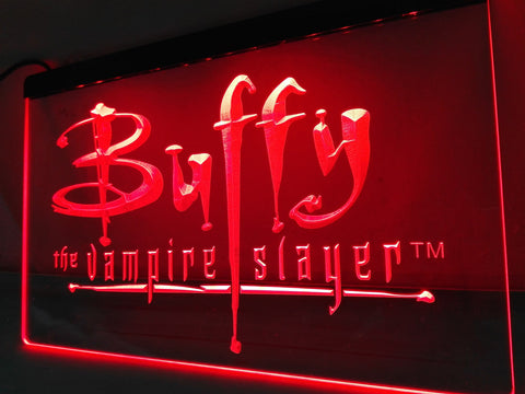 Buffy the Vampire Slayer Movie LED Sign - Red - TheLedHeroes