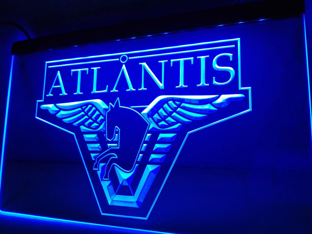 Stargate Atlantis LED Sign - Blue - TheLedHeroes