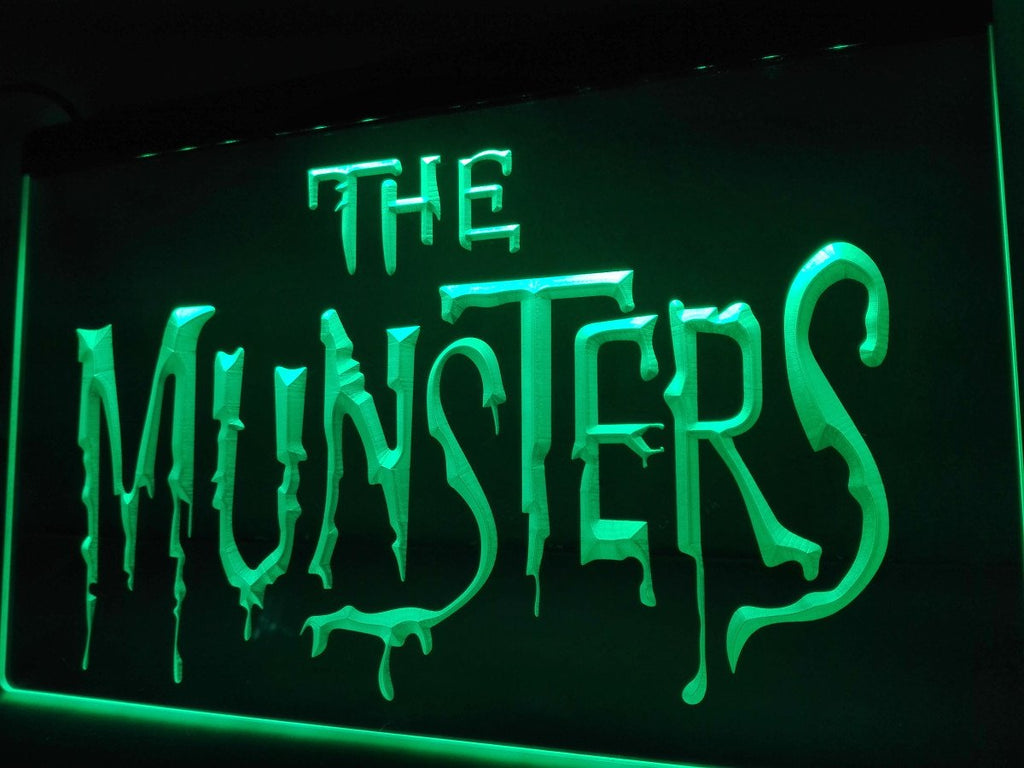 The Munsters LED Neon Sign USB - Green - TheLedHeroes