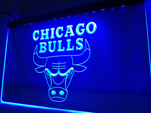 Chicago Bulls LED Neon Sign - 7 Colors