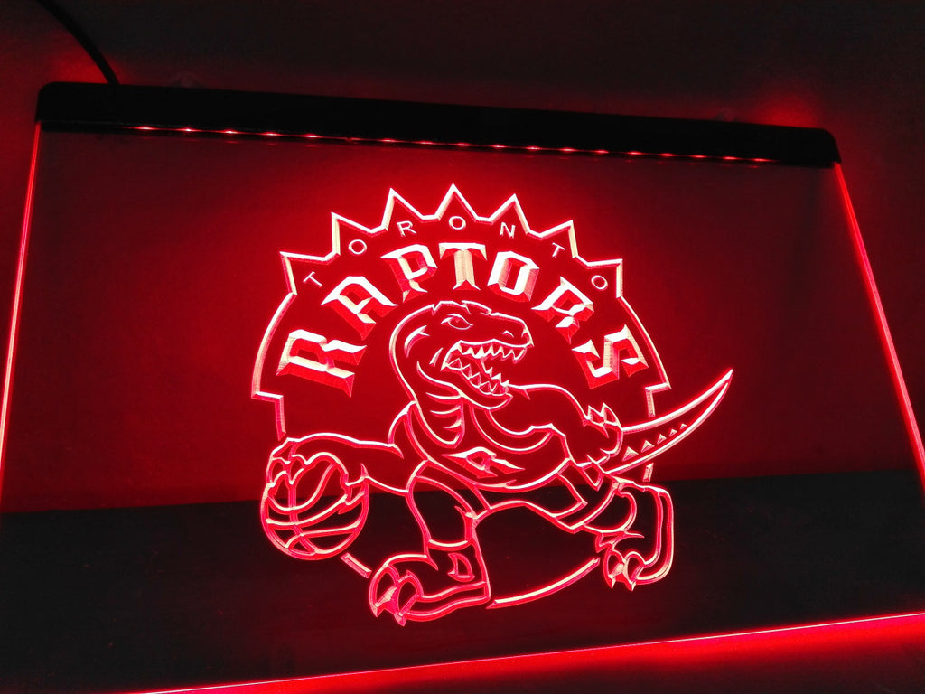 Toronto Raptors LED Sign - Red - TheLedHeroes