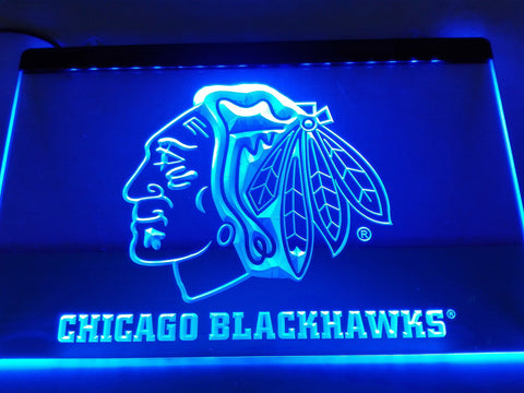 Chicago Blackhawks LED Sign - 7 Colors