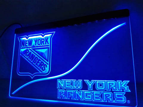 FREE New York Rangers LED Sign -  - TheLedHeroes