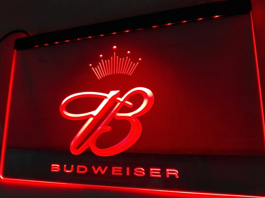Budweiser  LED Neon Sign Electrical - Red - TheLedHeroes