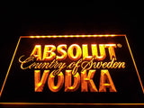 Absolut Vodka Country of Sweden LED Sign -  - TheLedHeroes