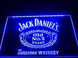 Jack Daniel's Whiskey Bar Beer LED Neon Sign Plastic Crafts 7 colors  on/off Switch