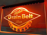 FREE Grain Belt Beer LED Sign - Orange - TheLedHeroes