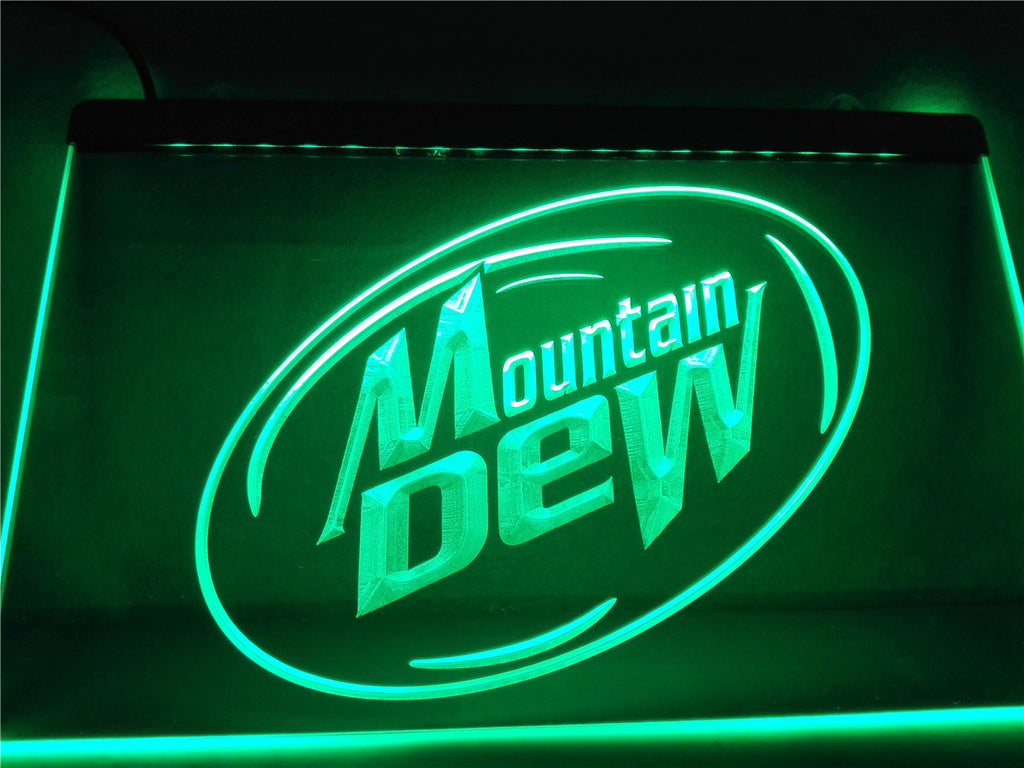 Mountain Dew Energy Drink Sport LED Sign