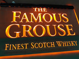 FREE The Famous Grouse LED Sign - Orange - TheLedHeroes