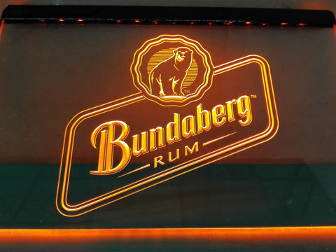 Bundaberg Rum LED Sign - Orange - TheLedHeroes