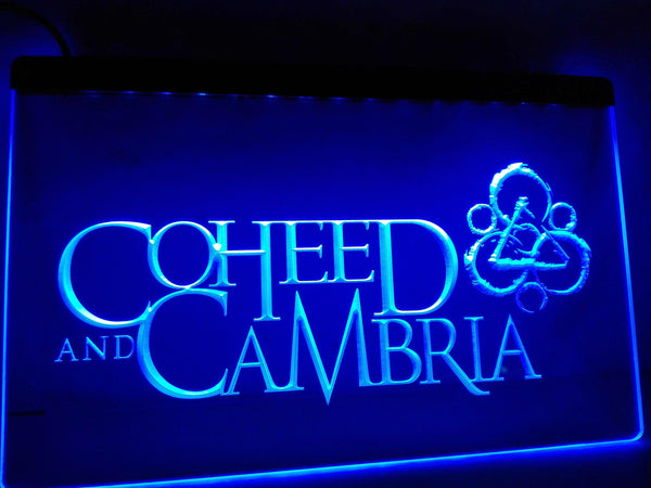 Coheed Cambria LED Neon Sign with On/Off Switch 7 Colors to choose