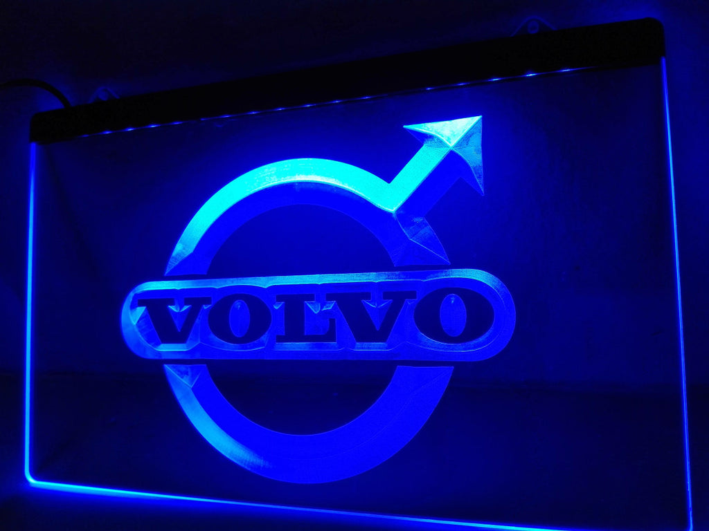 Volvo LED Sign - Blue - TheLedHeroes