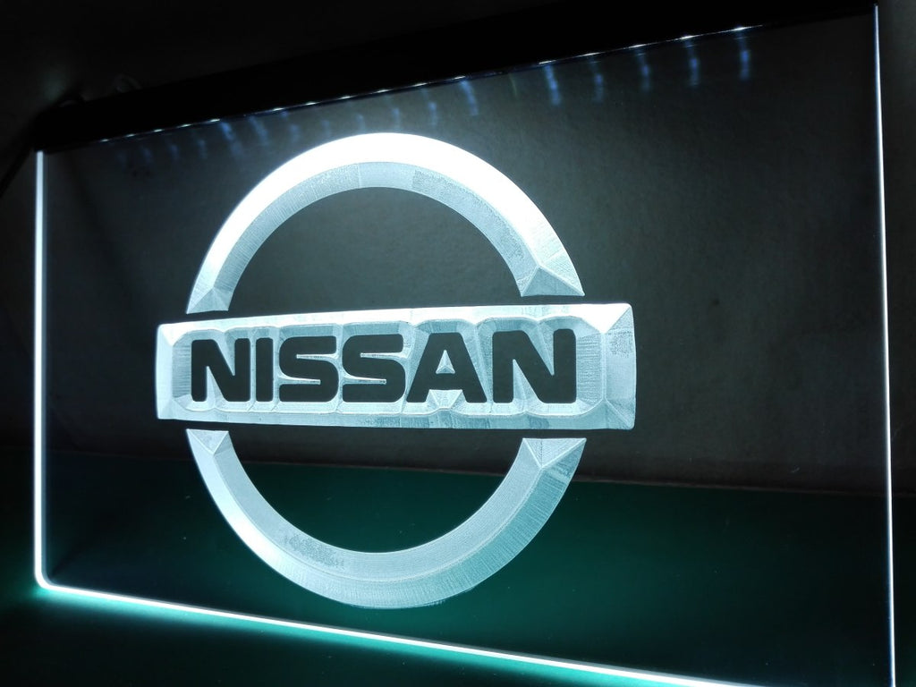 FREE Nissan LED Sign - White - TheLedHeroes