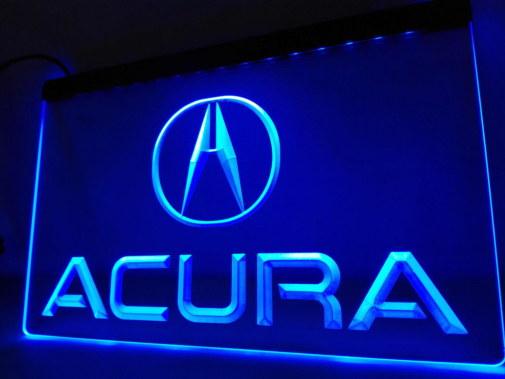 Acura LED Sign - Blue - TheLedHeroes