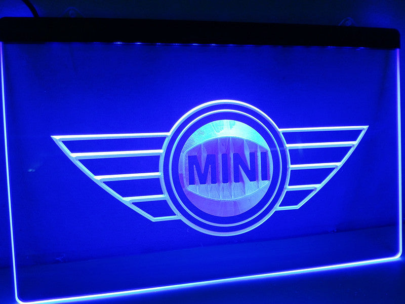 Mini LED Sign - Blue - TheLedHeroes