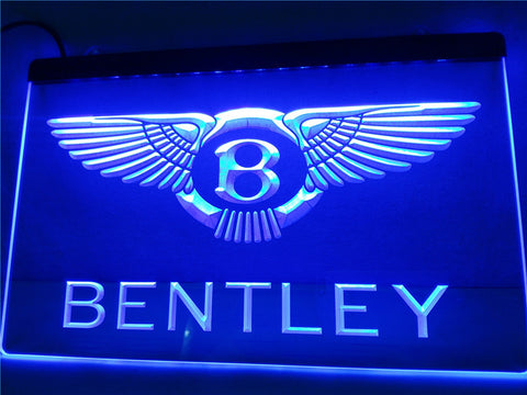 Bentley LED Neon Sign with On/Off Switch 7 Colors to choose