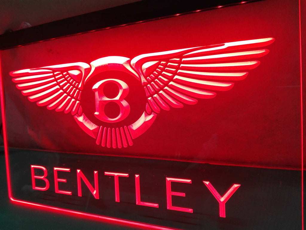 Bentley LED Sign - Red - TheLedHeroes