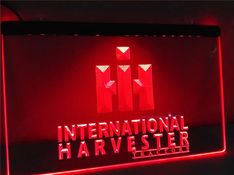 International Harvester Tractor LED Sign
