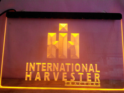 International Harvester Tractor LED Neon Sign with On/Off Switch 7 Colors to choose