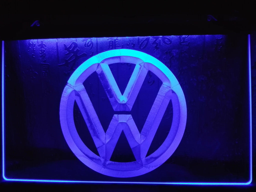 Volkswagen LED Sign - Blue - TheLedHeroes