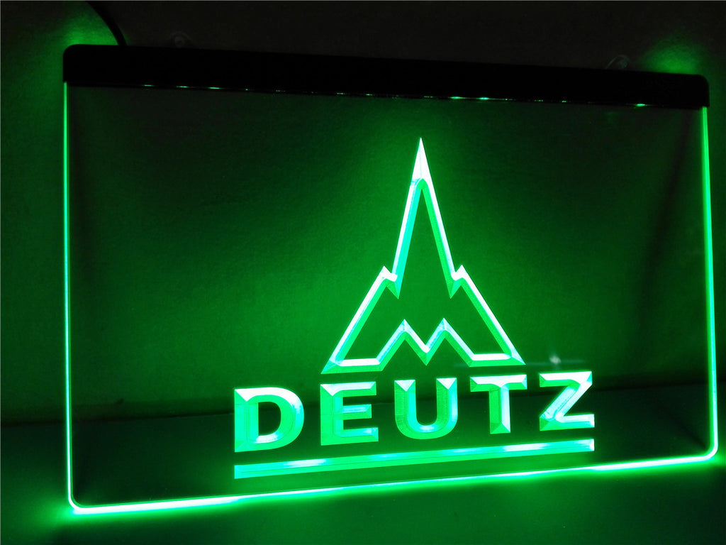 Deutz LED Sign - Green - TheLedHeroes