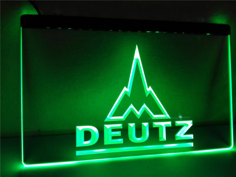 FREE Deutz LED Sign - Green - TheLedHeroes