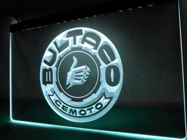 Bultaco Motorcycle LED Neon Sign with On/Off Switch 7 Colors to choose