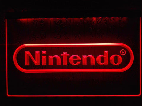 Nintendo Game Room Bar Beer LED Sign