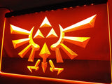 Legend Of Zelda Triforce LED Sign -  - TheLedHeroes