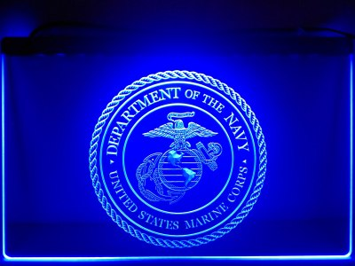 FREE United States Marine Corps LED Sign -  - TheLedHeroes
