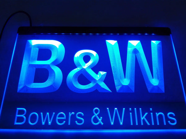 Bowers & Wilkins LED Neon Sign with On/Off Switch 7 Colors to choose