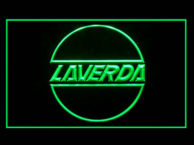 Laverda Scooter LED Sign -  Green - TheLedHeroes