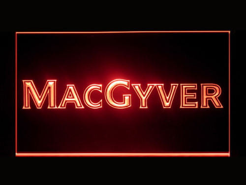 MacGyver LED Sign - Red - TheLedHeroes