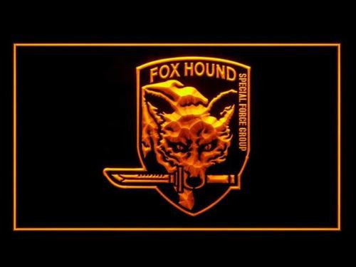 Metal Gear Solid Fox Wolf LED Sign -  - TheLedHeroes