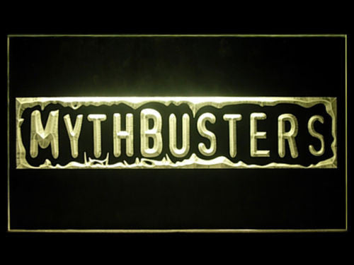 FREE MythBusters LED Sign - Yellow - TheLedHeroes