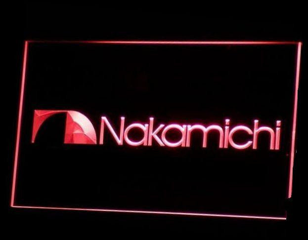 Nakamichi led neon sign signage acrylic multicolor