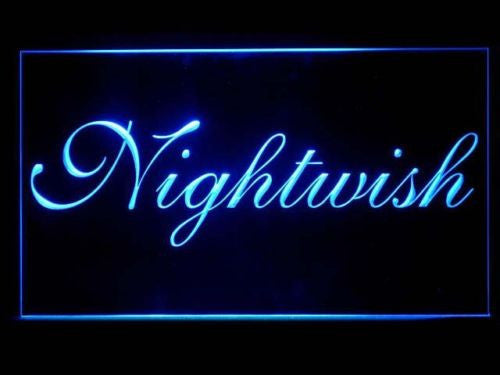 FREE Nightwish LED Sign - Blue - TheLedHeroes