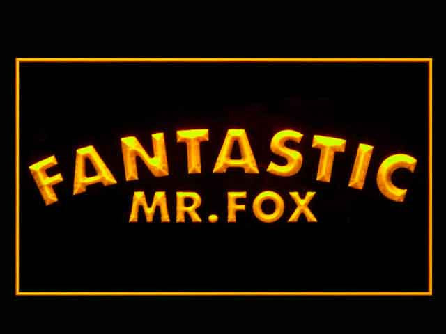Fantastic Mr. Fox LED Sign - Multicolor - TheLedHeroes