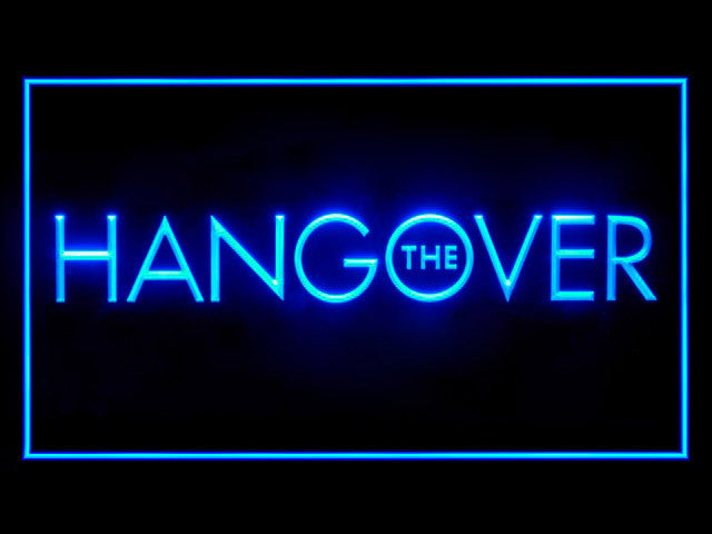 The Hangover LED Sign -  Blue - TheLedHeroes