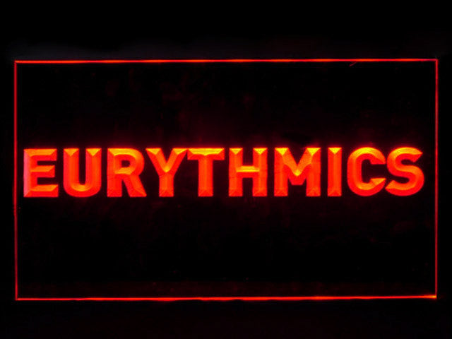 Eurythmics LED Sign -  Red - TheLedHeroes