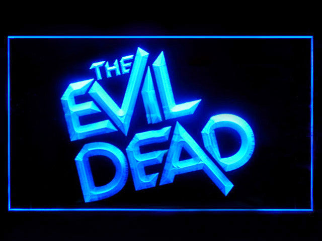 The Evil Dead LED Sign -  Blue - TheLedHeroes