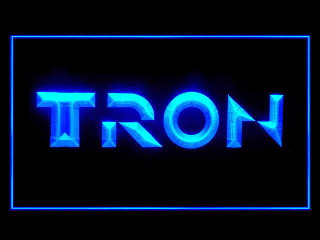 Tron Legacy LED Sign -  Blue - TheLedHeroes
