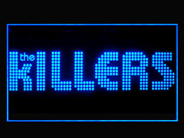 The Killers LED Sign -  Blue - TheLedHeroes
